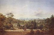 Henry Gritten Melbourne from the Botanical Gardens oil painting picture wholesale