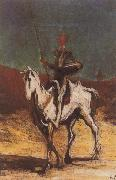 Honore  Daumier Don Quixote and Sancho Pansa oil painting picture wholesale