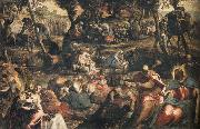 Jacopo Tintoretto Gathering of Manna oil painting picture wholesale