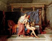 Jacques-Louis  David The Loves of Paris and Helen oil painting picture wholesale