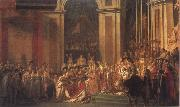 Jacques-Louis David Consecration of the Emperor Napoleon i and Coronation of the Empress Josephine oil painting picture wholesale