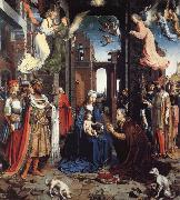 Jan Gossaert Mabuse THe Adoration of the Kings oil painting picture wholesale