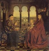 Jan Van Eyck Madonna of chancellor Rolin oil painting picture wholesale