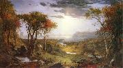 Jasper Cropsey Herbst am Hudson River oil painting picture wholesale