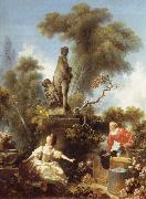 Jean Honore Fragonard The meeting, from De development of the love oil painting picture wholesale