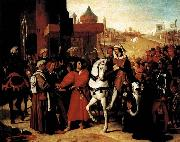 Jean-Auguste Dominique Ingres The Entry of the Future Charles V into Paris in 1358 oil painting picture wholesale