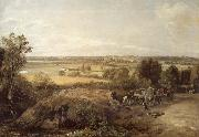 John Constable Stour Valley and the church of Dedham oil painting picture wholesale