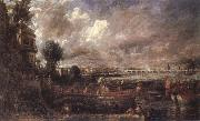 John Constable The Opening of Waterloo Bridge oil painting picture wholesale