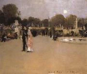 John Singer Sargent The Luxembourg Gardens at Twilight oil painting picture wholesale