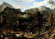 Joseph Anton Koch The Upland near Bern oil painting picture wholesale
