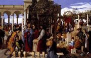 Julius Schnorr von Carolsfeld The Wedding Feast at Cana oil painting artist
