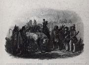 Karl Bodmer The Travelers meeting with Minnetarree indians near fort clark oil painting picture wholesale
