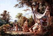 Karoly Marko the Elder The Toilette of Venus oil painting picture wholesale