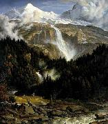 Koch, Joseph Anton The Schmadribach Falls oil painting picture wholesale