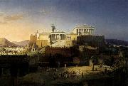 Leo von Klenze The Acropolis at Athens oil painting