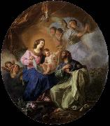 Luis Paret y alcazar Virgin and Child with St James the Great oil painting picture wholesale