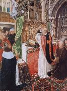 MASTER of Saint Gilles The Mass of Saint Giles oil painting picture wholesale