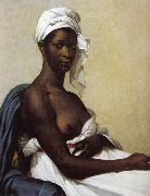 Marie-Guillemine Benoist Portrait of a Black woman oil painting picture wholesale