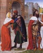 Master of Moulins The Meeting of Saints Joachim and Anne at the Golden Gate oil painting picture wholesale