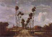 Meindert Hobbema The Avenue at Middlehamis oil painting picture wholesale