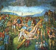 Michelangelo Buonarroti Martyrdom of St Peter oil painting picture wholesale