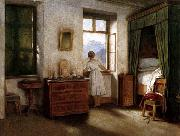 Moritz von Schwind Early Morning oil painting reproduction