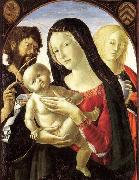Neroccio Madonna and Child with St John the Baptist and St Mary Magdalene oil painting picture wholesale