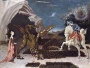 Paolo Ucello Saint George,the Princess and the Dragon oil painting