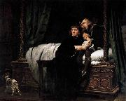 Paul Delaroche The Death of the Sons of King Edward in the Tower oil painting picture wholesale
