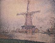 Paul Signac Le Moulin Holiandais a Edam oil painting picture wholesale
