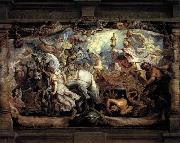Peter Paul Rubens Triumph of Church over Fury, Discord, and Hate oil painting picture wholesale
