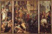 Peter Paul Rubens Saint Bavo About to Receive the Monastic Habit at Ghent oil painting picture wholesale