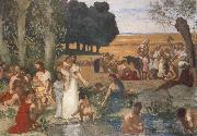 Pierre Puvis de Chavannes Summer oil painting picture wholesale