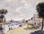 Pierre-Auguste Renoir Bords de la Seine oil painting picture wholesale