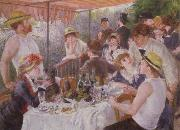 Pierre-Auguste Renoir Lucheon of the Boating Party oil painting picture wholesale