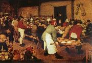 Pieter Bruegel Farmer wedding oil painting picture wholesale
