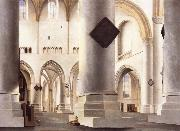 Pieter Saenredam THe Interior of the Grote Kerk,Haarlem oil painting picture wholesale