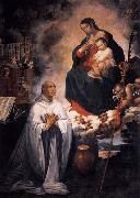 ROELAS, Juan de las Vision of St Bernard oil painting picture wholesale