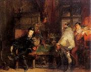 Richard Parkes Bonington Henri III oil painting picture wholesale