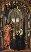 Rogier van der Weyden Christ Appearing to His Mother oil painting picture wholesale