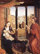Rogier van der Weyden San Lucas Painting to the Virgin one oil painting picture wholesale