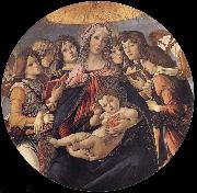 Sandro Botticelli The Madonna and the Nino with angeles oil painting picture wholesale