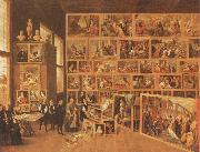 TENIERS, David the Younger Archduke Leopold william in his gallery at Brussels oil painting picture wholesale
