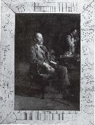 Thomas Eakins Bildnis des Physikers Henry A Rowland oil painting picture wholesale