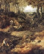 Thomas Gainsborough Detail of Cornard Wood oil painting picture wholesale