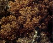Thomas Gainsborough Detail of Landscape with a Peasant on a path oil painting picture wholesale