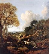 Thomas Gainsborough The Fallen Tree oil painting picture wholesale
