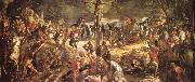 Tintoretto Kruisiging oil painting picture wholesale
