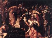Tintoretto Esther before Ahasuerus oil painting picture wholesale