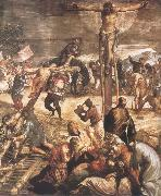 Tintoretto Crucifixion oil painting artist